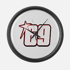 nh69star Large Wall Clock