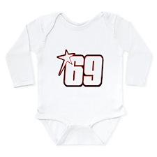 nh69star Long Sleeve Infant Bodysuit