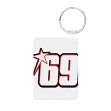 nh69star Aluminum Photo Keychain