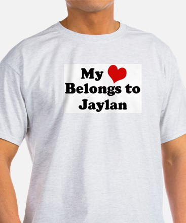 My Heart: Jaylan Ash Grey T-Shirt