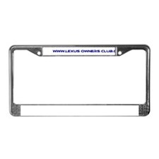 Cool Lexus License Plate Frame