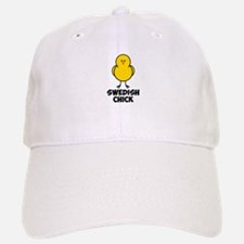 Swedish Chick Baseball Baseball Cap