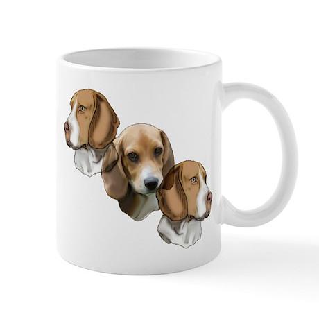 beagle portraits Mug