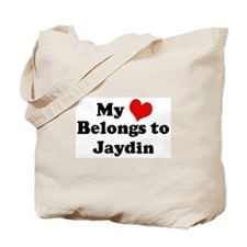 My Heart: Jaydin Tote Bag