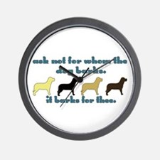 Ask Not for Barking Wall Clock