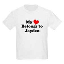 My Heart: Jayden Kids T-Shirt