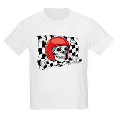 Skull Crossbones Racing T-Shirt