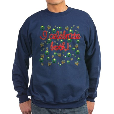 Hanukkah AND Christmas Sweatshirt (dark)