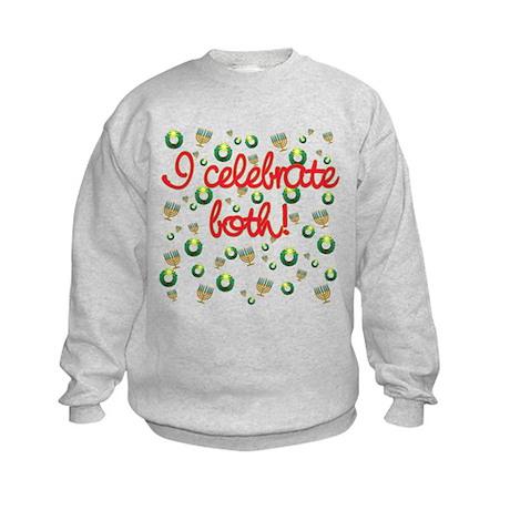 Hanukkah AND Christmas Kids Sweatshirt