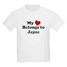 My Heart: Jayce Kids T-Shirt