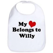 My Heart: Willy Bib