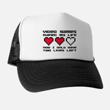 Video Games Ruined My Life Trucker Hat