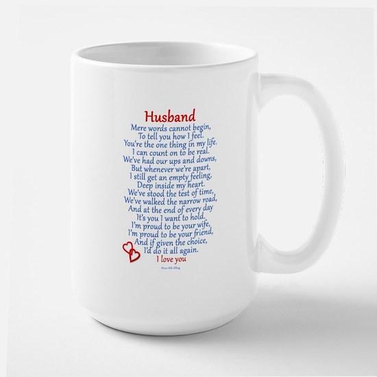 Husband Love Large Mug