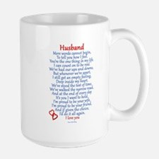 Husband Love Large Mug