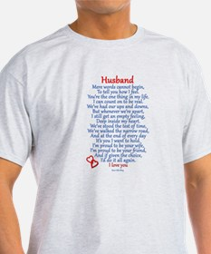 Husband Love T-Shirt
