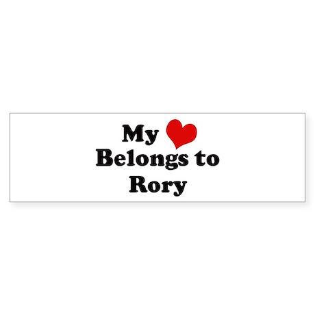 My Heart: Rory Bumper Sticker