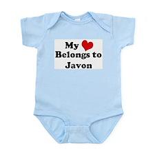 My Heart: Javon Infant Creeper