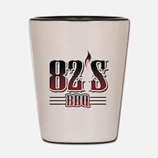 82's BBQ Shot Glass