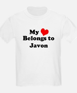 My Heart: Javon Kids T-Shirt