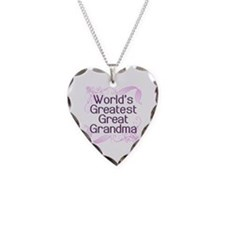 World's Greatest Great Grandma Necklace