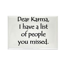 Dear Karma Rectangle Magnet (100 pack)