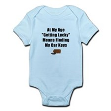 Getting Lucky Infant Bodysuit