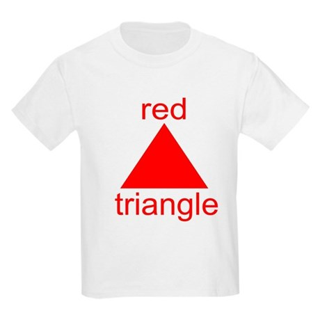 Red Triangle Kids T-Shirt