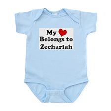 My Heart: Zechariah Infant Creeper