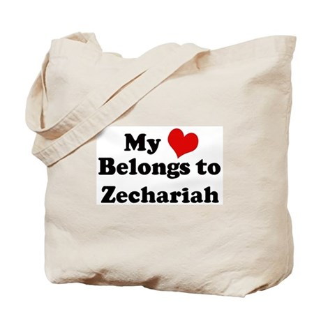 My Heart: Zechariah Tote Bag