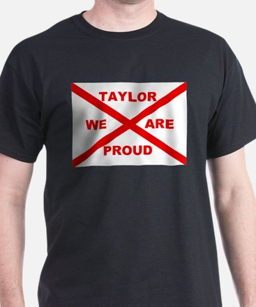 Taylor We Are Proud Black T-Shirt