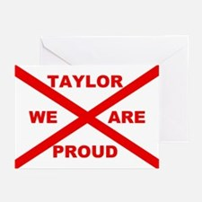 Taylor We Are Proud Greeting Cards (Pk of 10)
