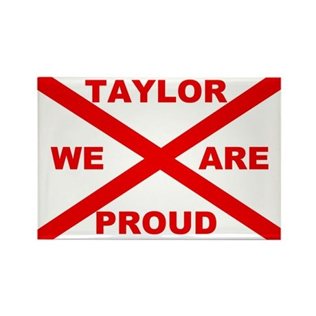 Taylor We Are Proud Rectangle Magnet (10 pack)
