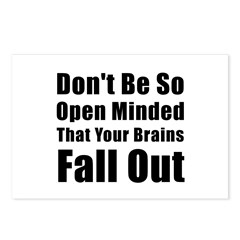 Open Minded Postcards (Package of 8)