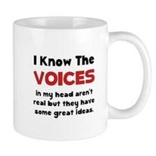 Voices In Head Mug