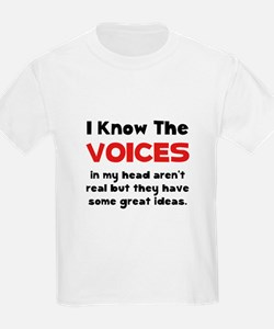 Voices In Head T-Shirt
