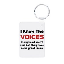 Voices In Head Keychains