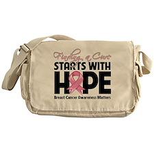 Cure Hope Breast Cancer Messenger Bag