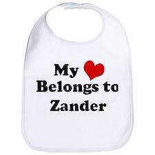 My Heart: Zander Bib