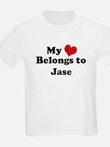 My Heart: Jase Kids T-Shirt