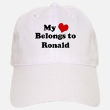My Heart: Ronald Baseball Baseball Cap