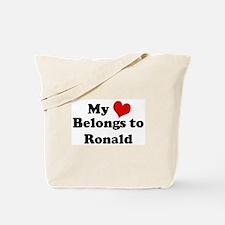 My Heart: Ronald Tote Bag