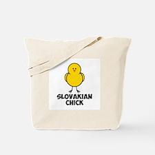 Slovakian Chick Tote Bag
