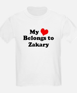 My Heart: Zakary Kids T-Shirt