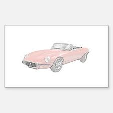 Jaguar XKE 1972 Decal