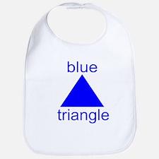 Blue Triangle Bib