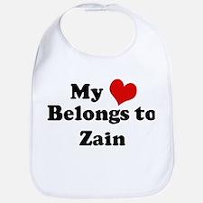 My Heart: Zain Bib