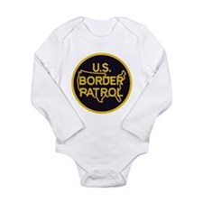 Border Patrol Long Sleeve Infant Bodysuit