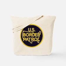 Border Patrol Tote Bag