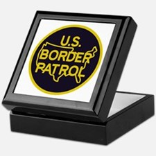 Border Patrol Keepsake Box