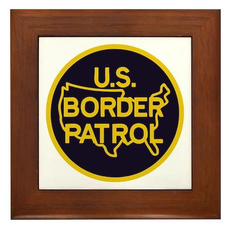 Border Patrol Framed Tile